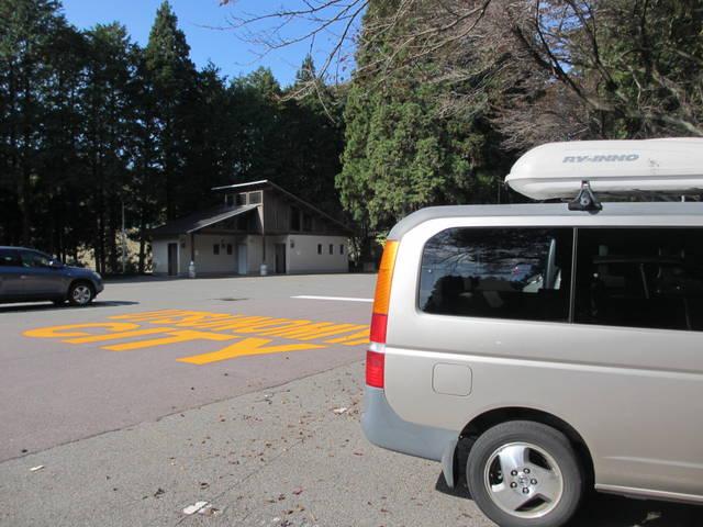 森林公園駐車場
