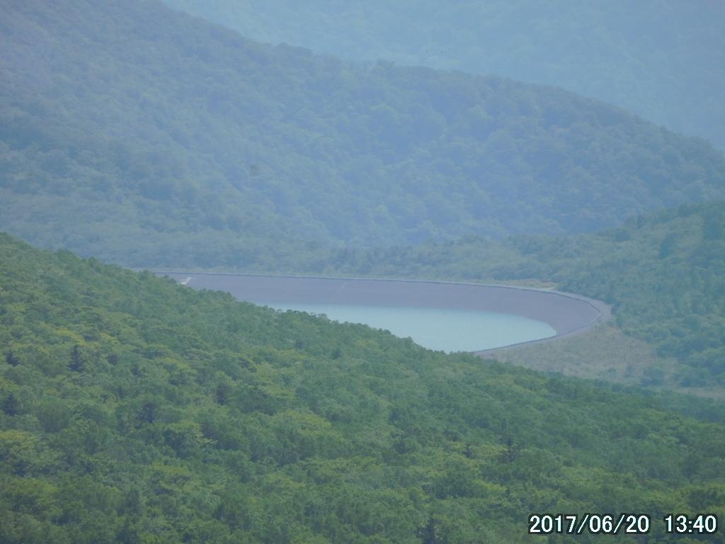 沼原湿原の調整池