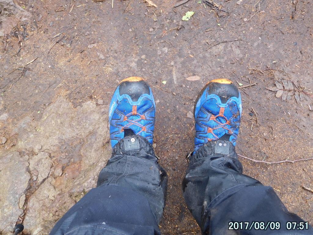 今日は身軽に動けるように靴はローカットにした