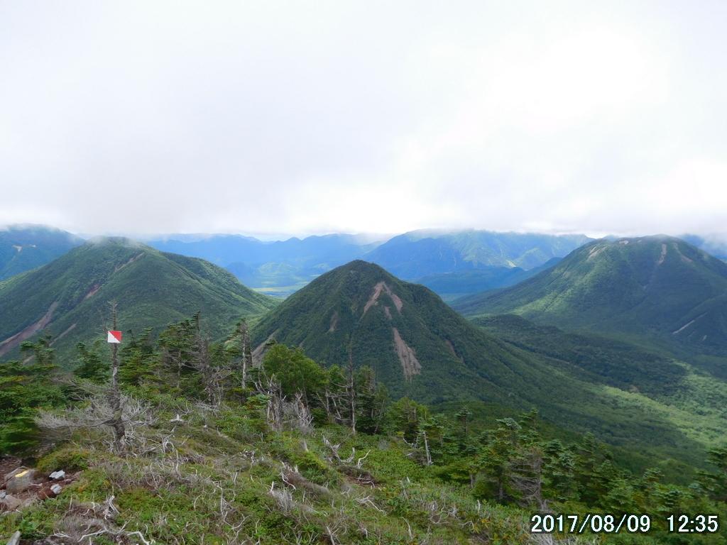 小真名子山と大真名子山