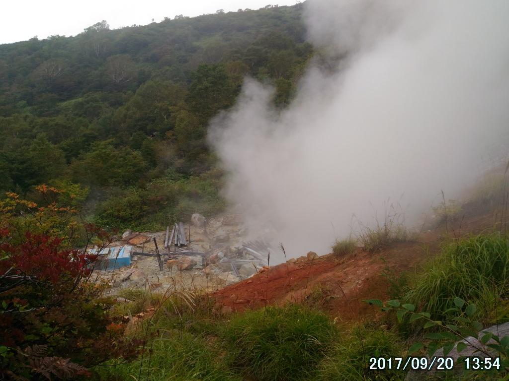 三斗小屋の源泉
