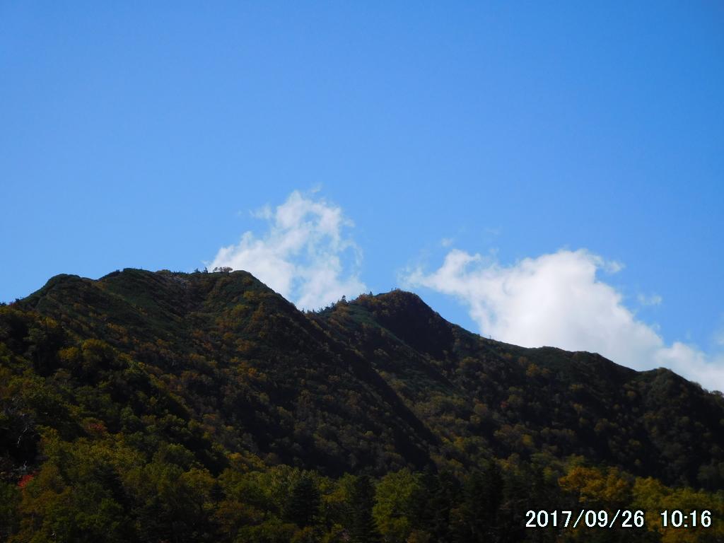 女峰山が間近になった