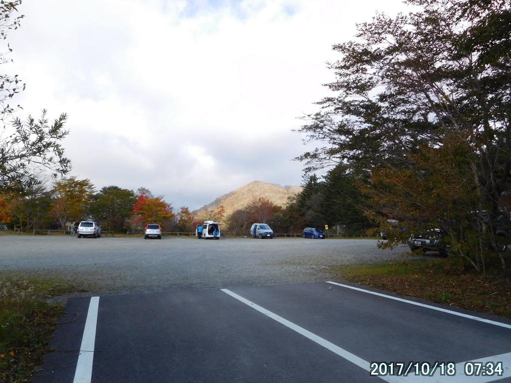 沼原の駐車場