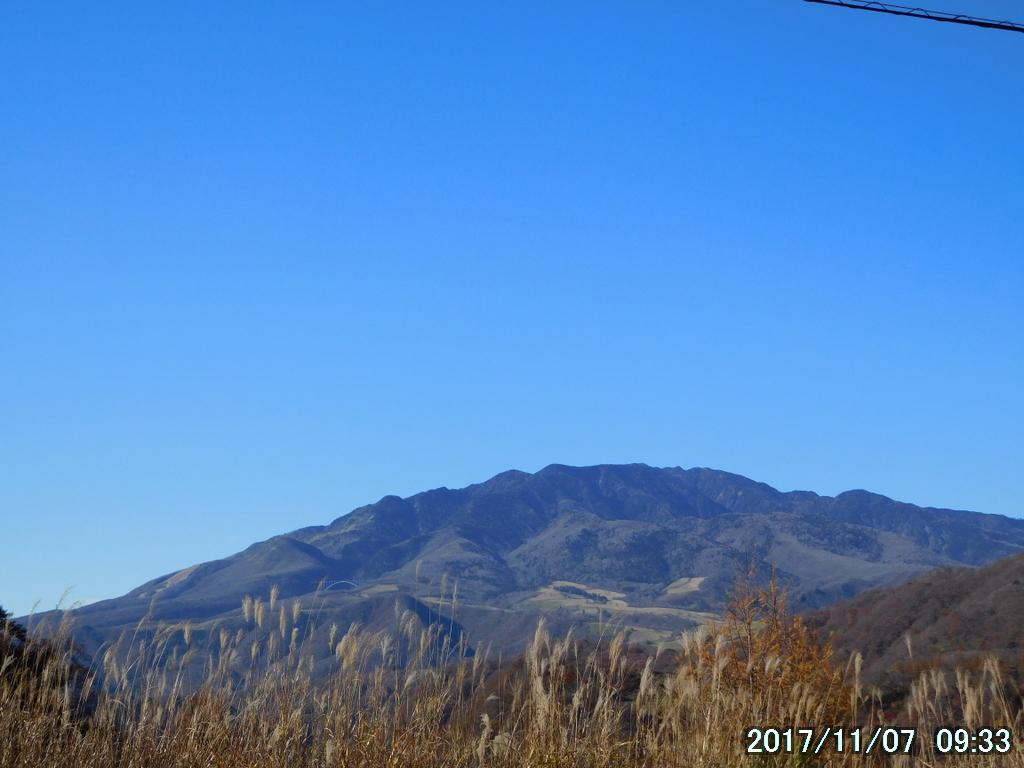 赤薙山から女峰山への稜線