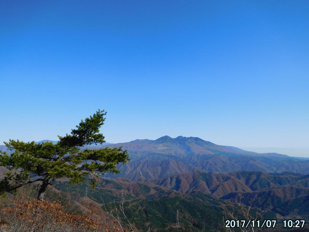 高原山(鶏頂山、釈迦ヶ岳、中岳、西平岳の総称)