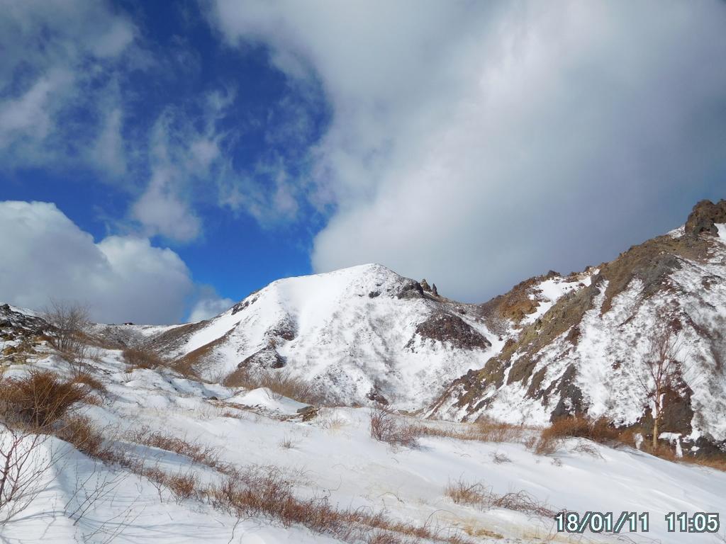 剣ヶ峰と朝日岳