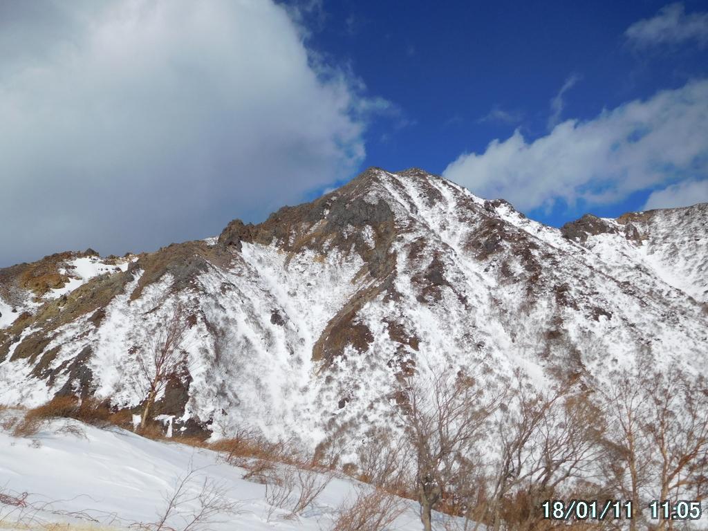 朝日岳全景