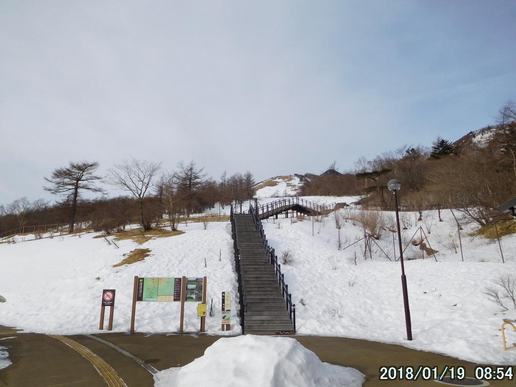 登山口の天空回廊
