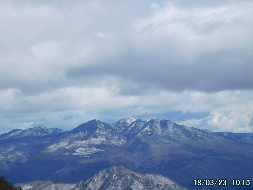 高原山をズームで