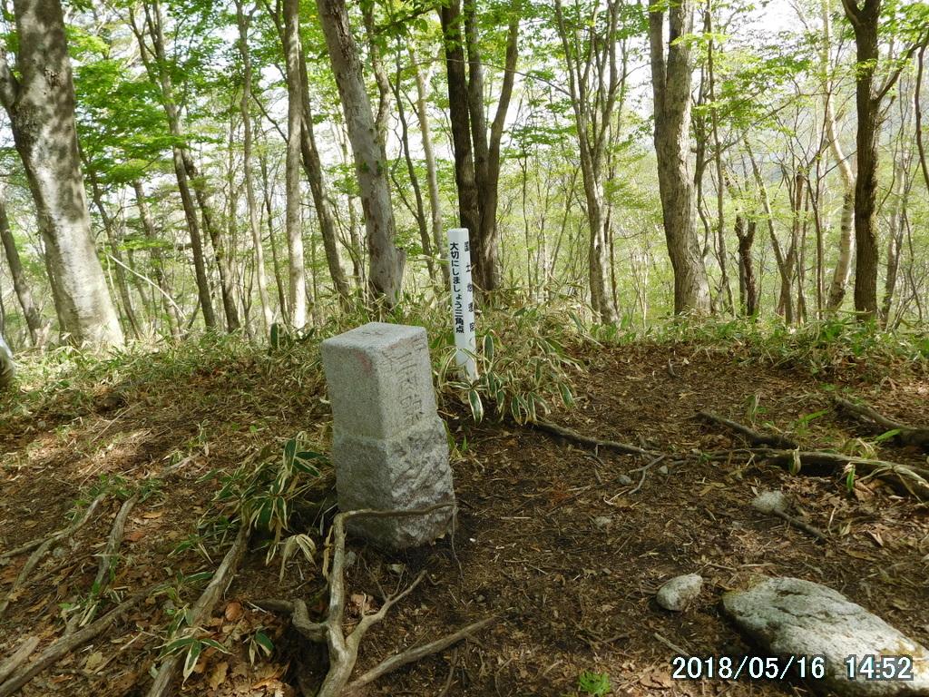 大入道(1402メートル)