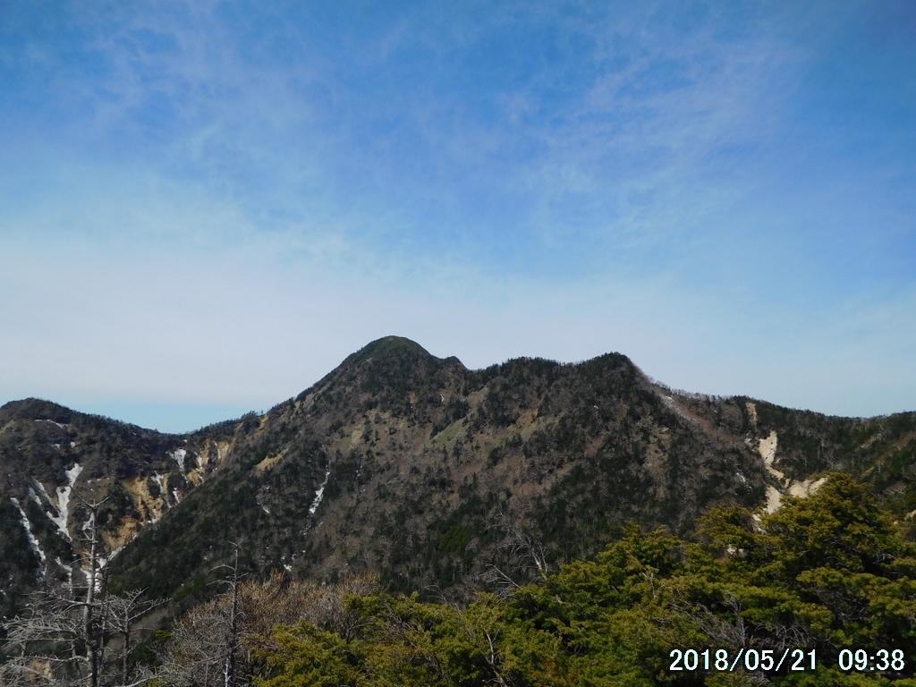 女峰山はあと2キロ