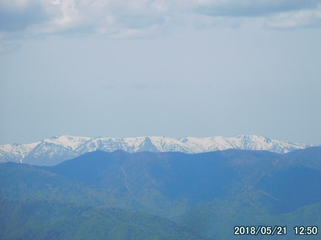 南会津の山並み