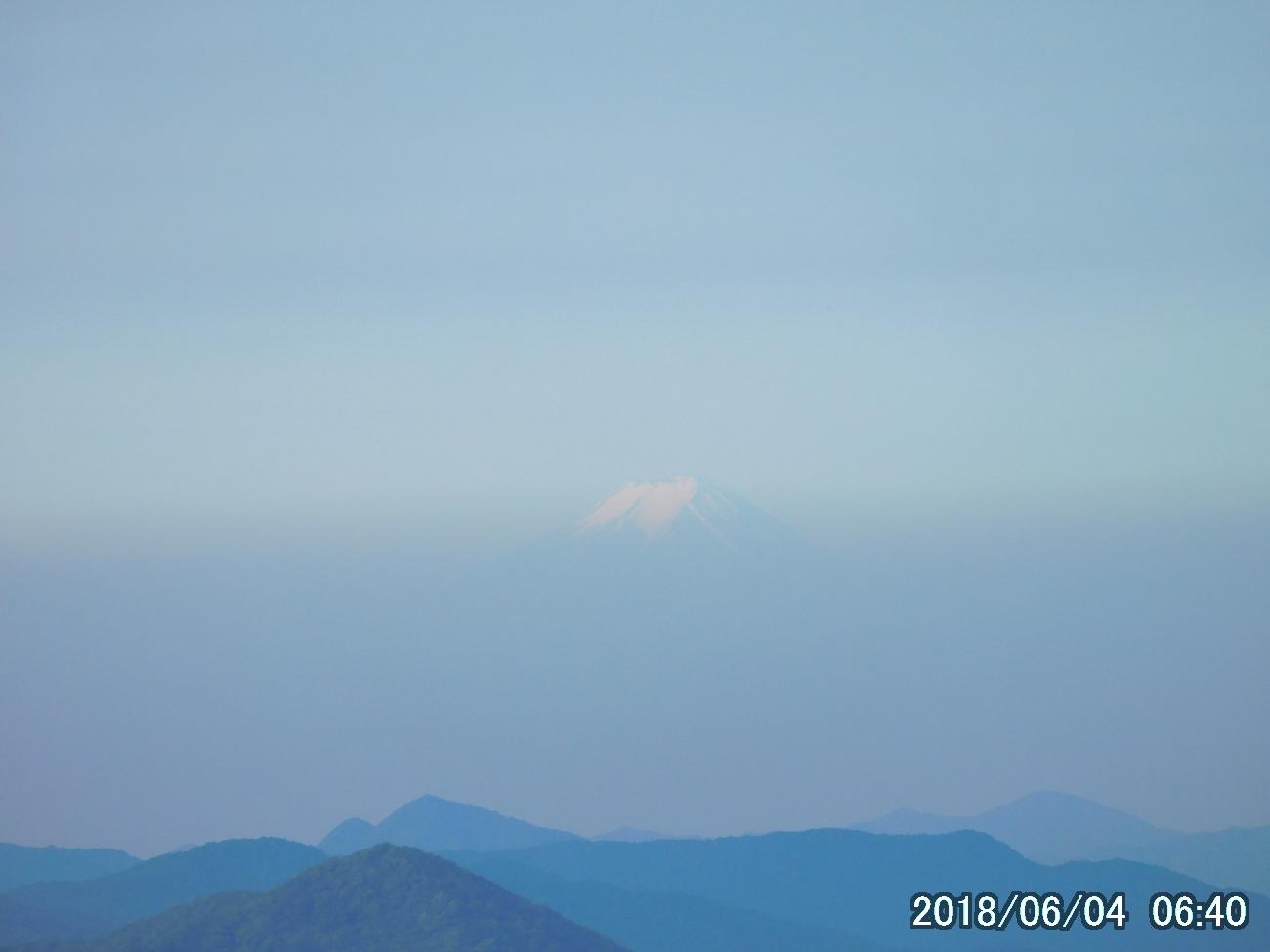 小丸山から富士山