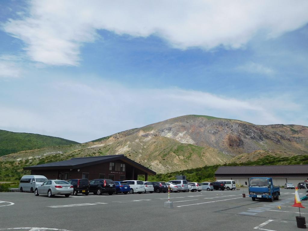 福島遠征、初日は軽く吾妻小富士と浄土平湿原散策。