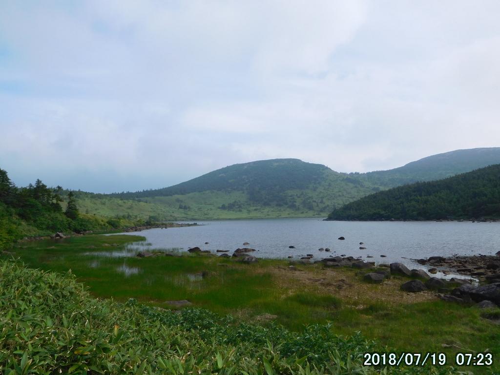 鎌沼。やはり美しい