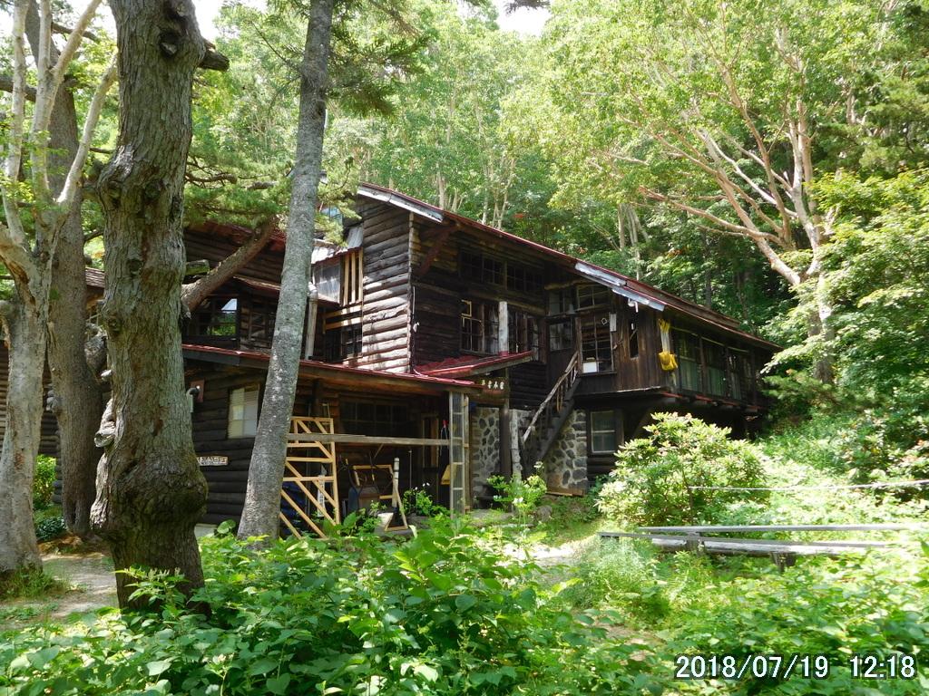 日本最古のログハウス