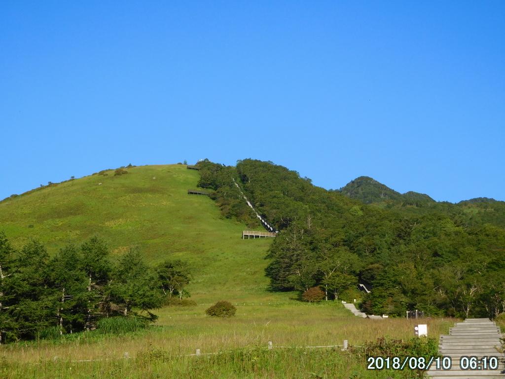 天空回廊終段の小丸山