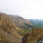 磐梯山2日目は核心の噴火口廻り。荒々しさに言葉を失う。