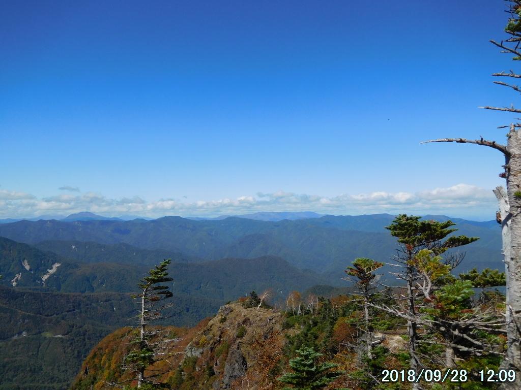 燧ヶ岳と南会津の山々