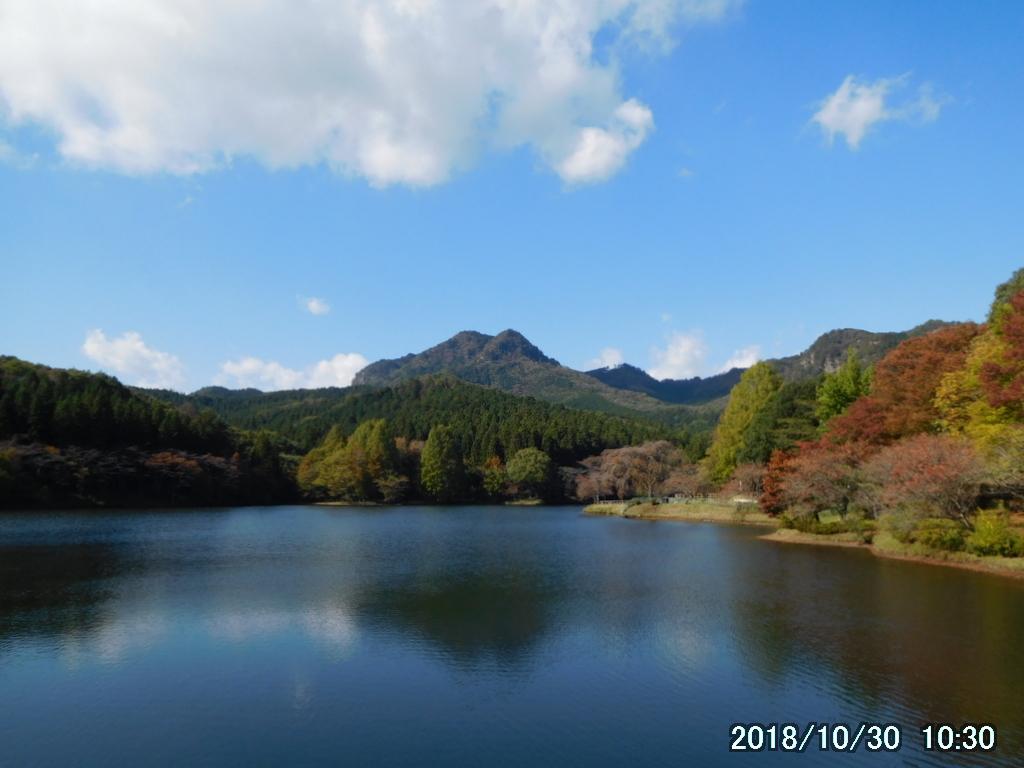 赤川ダムと古賀志山
