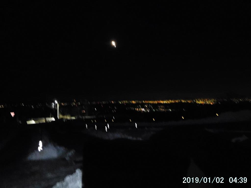 キスゲ平からの夜景