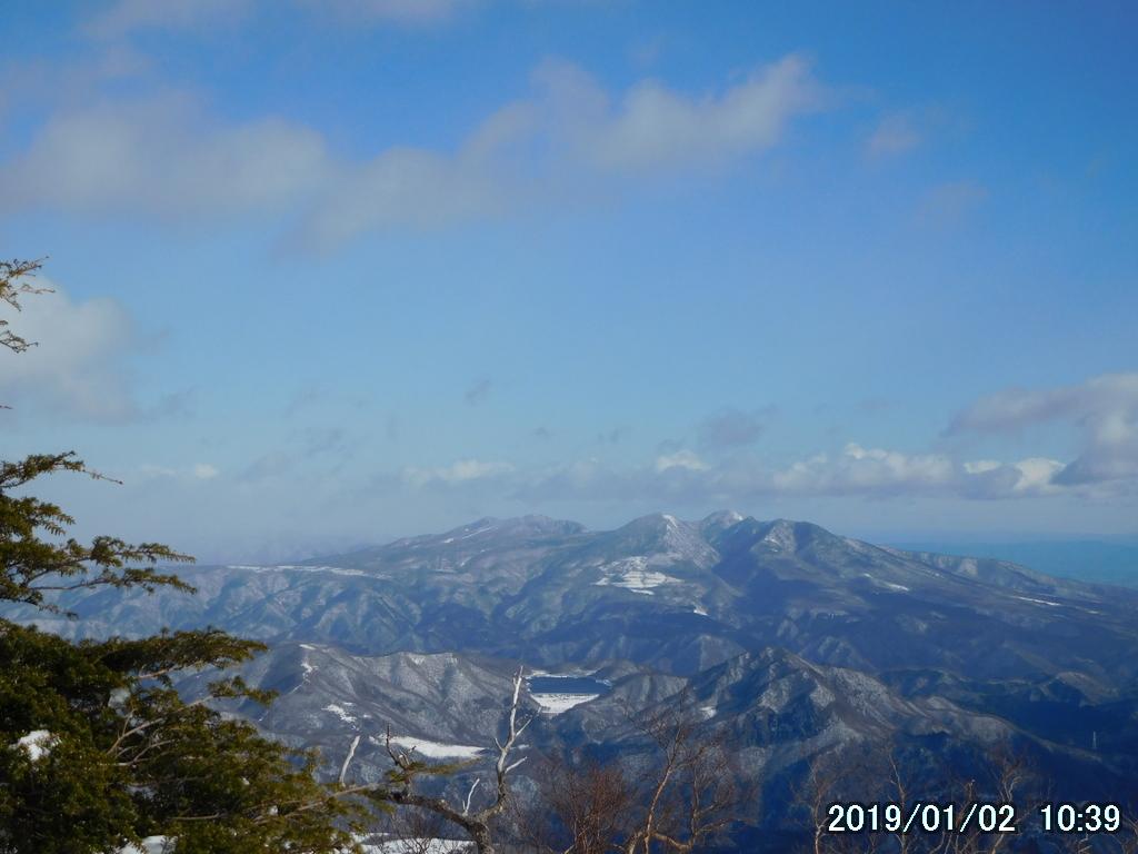 高原山と明神岳
