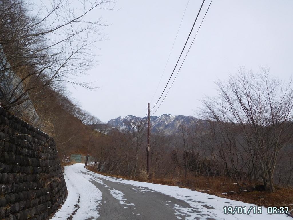 延々と続く車道
