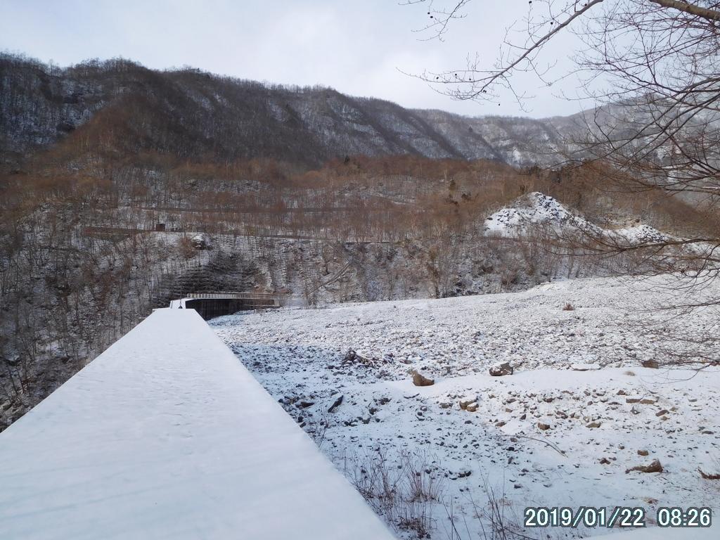 日向ダム堰堤