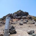 日本百名山・安達太良山で360度の大展望を満喫。