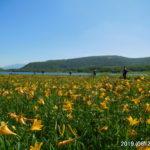 ニッコウキスゲ大群落の雄国沼へ。雄国山、厩岳山、猫魔ヶ岳24キロ縦走。
