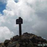 女峰山、今年2登目はまずまずの眺め。女峰の神様、ご機嫌直したか?