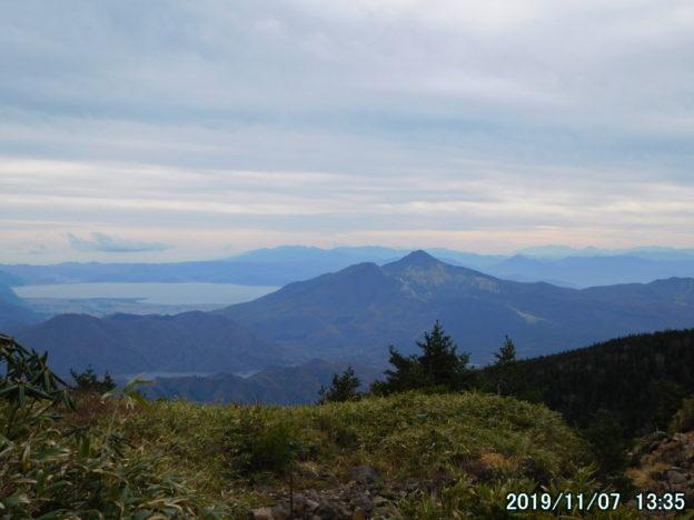 西大巓からの磐梯山