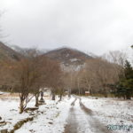 那須はすっかり雪景色。那須裏街道で三斗小屋宿跡を訪ねる。