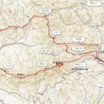 冬枯れの古賀志山、馬蹄形スタンダードを歩く。