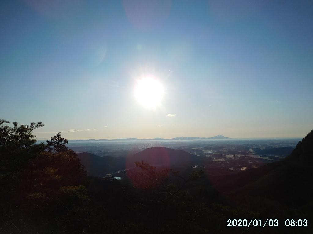 筑波山方面を眺める