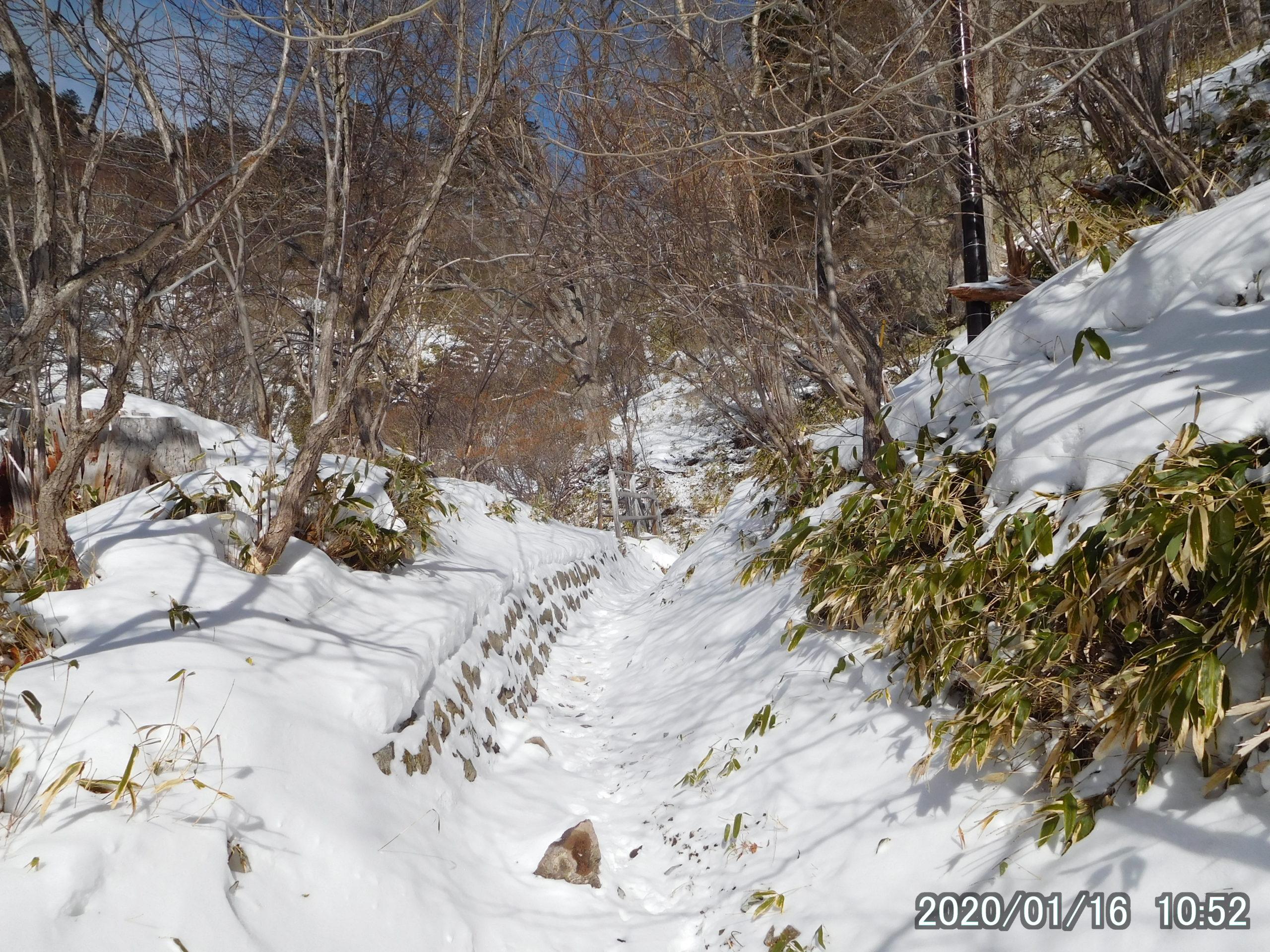 刈込湖登山口