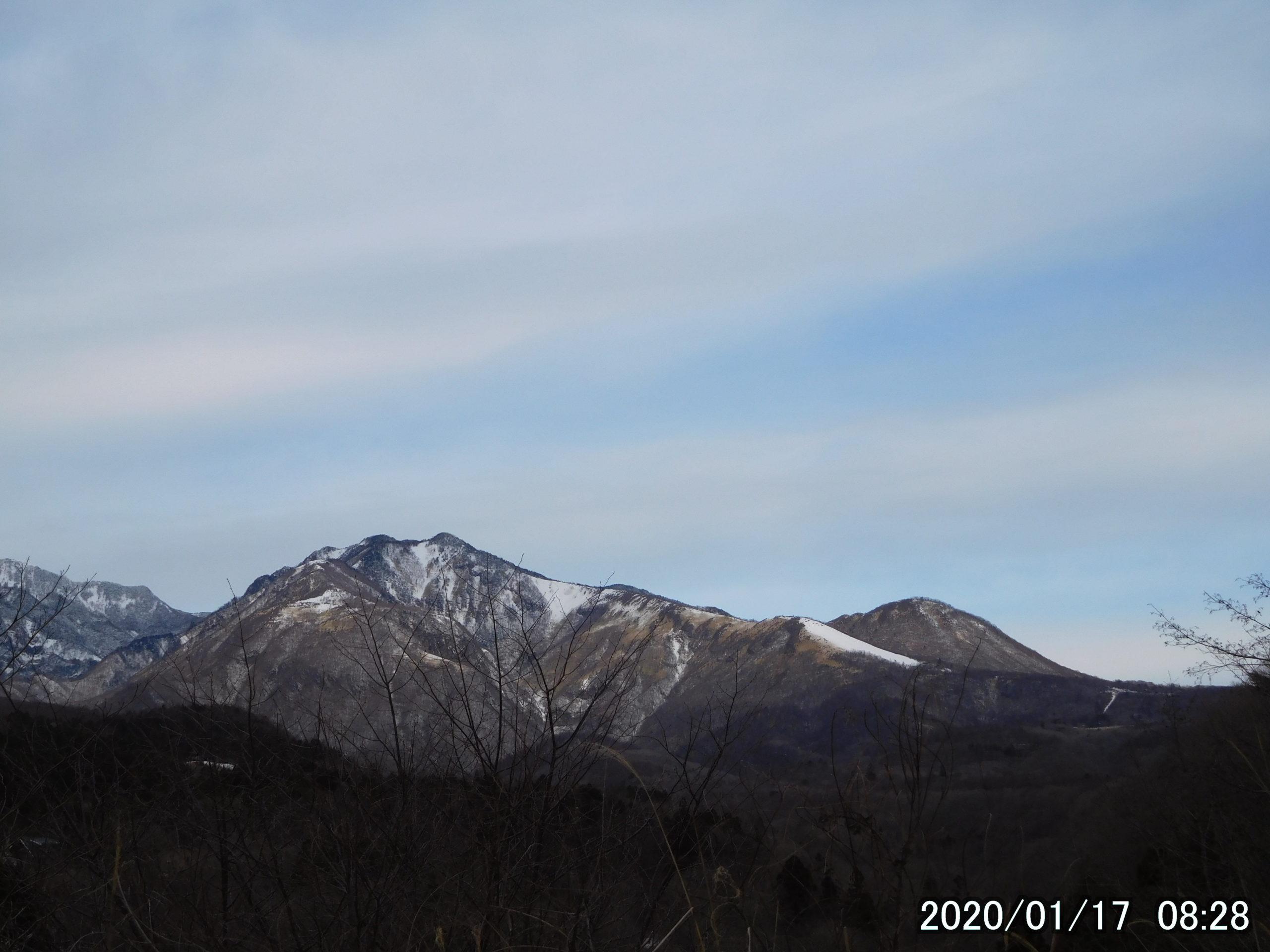 赤薙山と丸山
