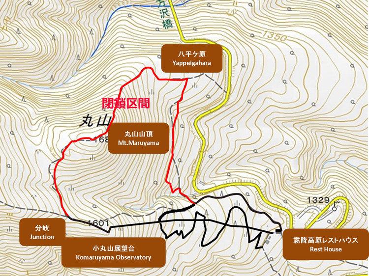 丸山の地図